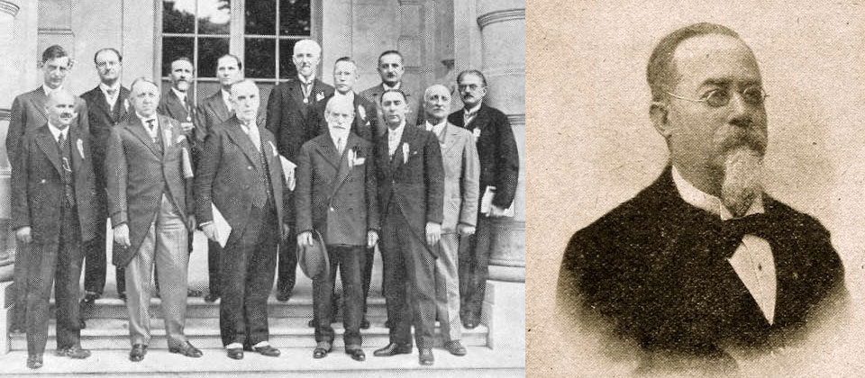 Congresso di parigi del 1932 e ritratto di Cesare Lombroso