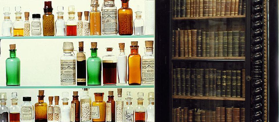 Farmacia omeopatica e boccette